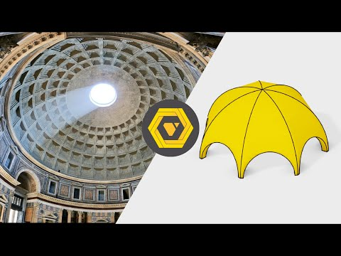 Grasshopper Tutorial: How to Make a Parametric Roman Dome