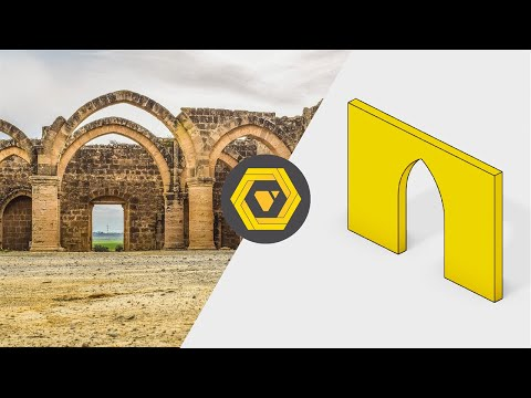 Grasshopper Tutorial: How to Make a Parametric Gothic Arch