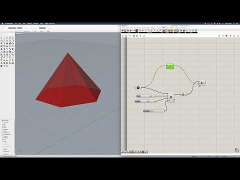 Grasshopper Tutorial: How to Generate a Pyramid