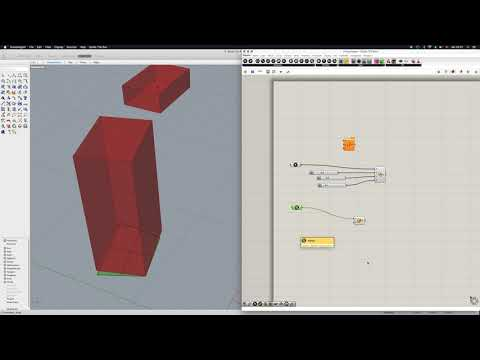 Grasshopper Tutorial: How to Set, Generate and Rotate a Box