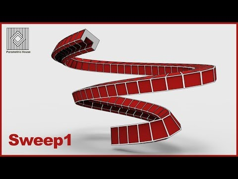 Grasshopper Tutorial (Sweep1)