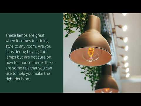 How to Choose Wooden Floor Lamp?