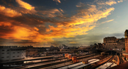 tramonto genova