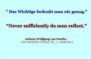 Goethe - 6