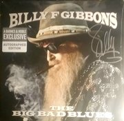 Billy Gibbons signed The Big Bad Blues LP