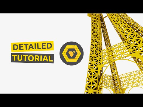 How To build the Parametric Eiffel Tower - GH Extended Tutorial