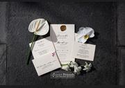 Amanda and Mickey Wedding Invitation