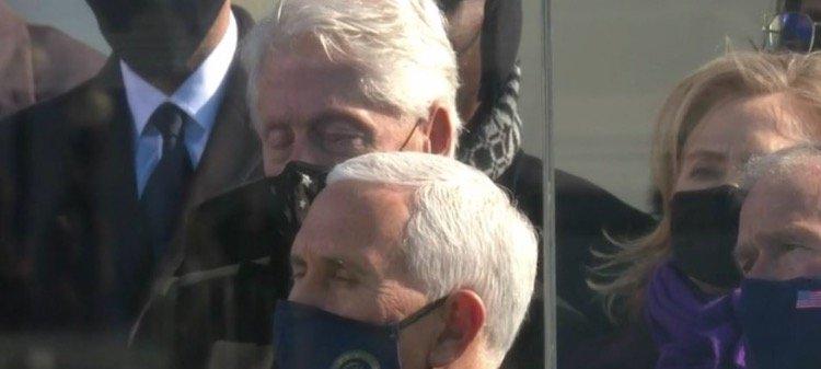 Bill At Stirring Biden Installation Speech