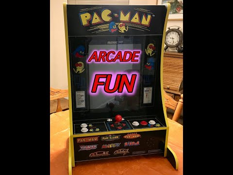 MY REVIEW OF THE 8274 ARCADE 1UP PARTY CADE  HOME ARCADE MACHINE