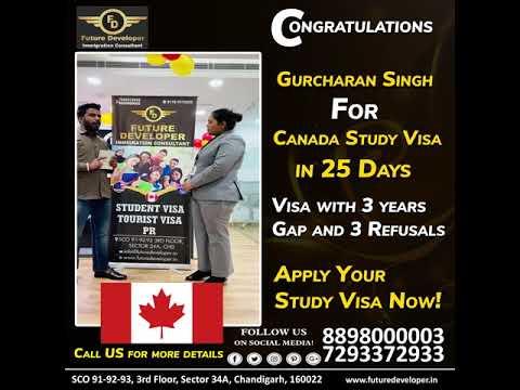 Study In Canada  with Future Developer