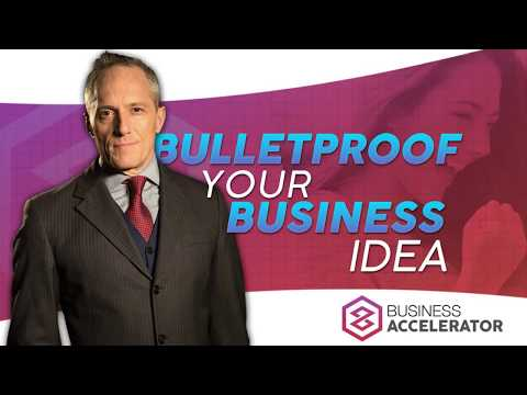 HOW TO BULLETPROOF YOUR BUSINESS IDEA - Free Masterclass | London Real Academy