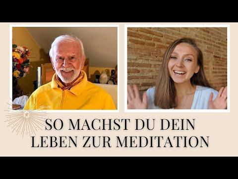 So machst du dein Leben zur Meditation - Interview mit Kurt Tepperwein