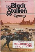 The Black Stallion Returns signed by Walter Farley. Bought on e