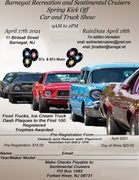 Barnegat Recreation and Sentimental Cruisers Spring Kick Off Car and Truck Show