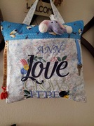 Twiddle Pillow for mom