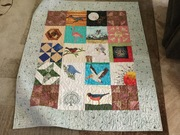 Two swaps one quilt