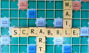 SCRABBLE MAIL ART