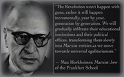 Max Horkheimer,Marxist Jew of the Frankfurt School