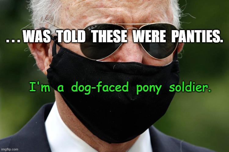 Dog faced
