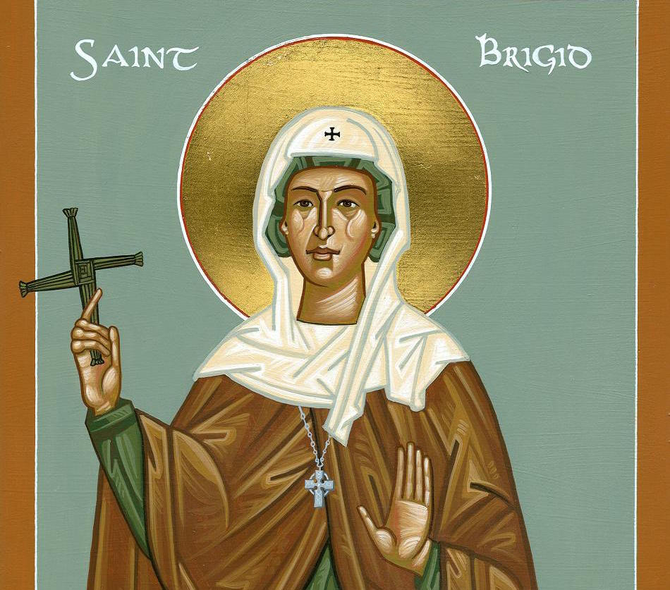 St. Brigid: The Second Patron Saint of Ireland - The Wild Geese