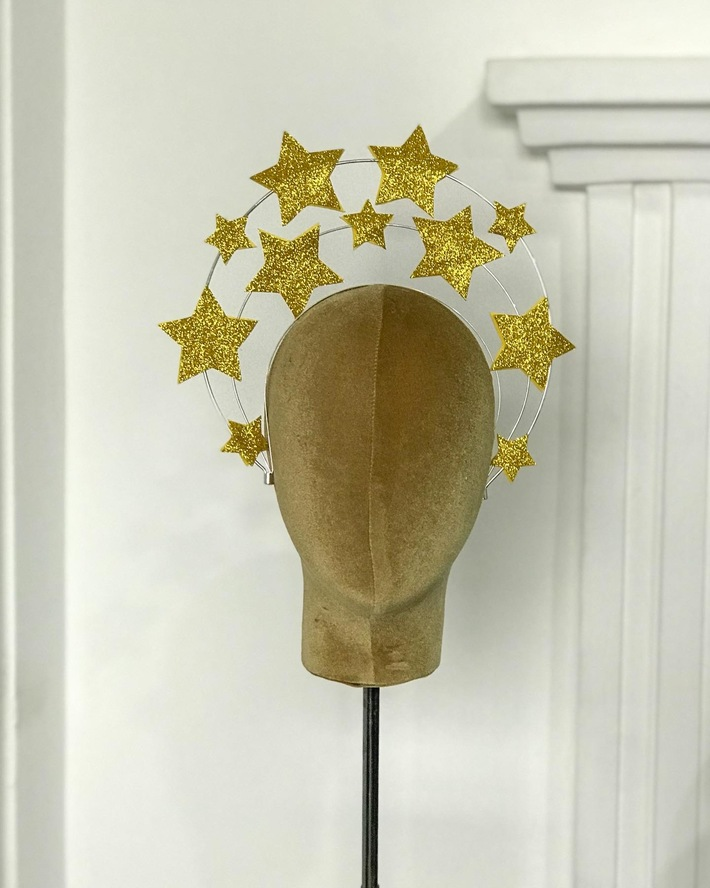 Star halo crown