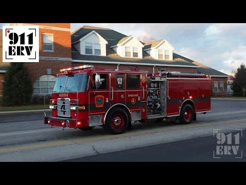 Nashua Fire Rescue Engine 4 Responding