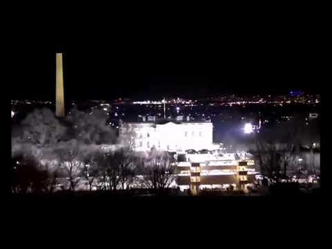 Odd Midnight Run At White House January 24, 2021