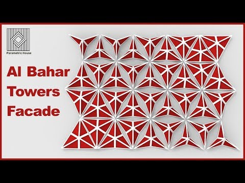 Al Bahar towers Facade (Grasshopper Tutorial)