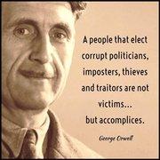 Orwell says