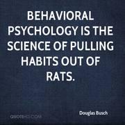 douglas busch - behavioral psychology