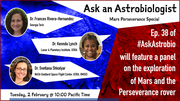 Ask an Astrobiologist: Mars Perseverance Special Panel