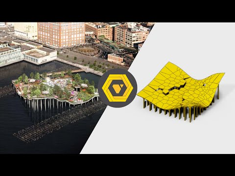 How to Make the Little Island by Heatherwick Studio - GH Timelapse