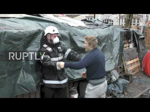 UK: Protesters dig 30m tunnel under London park to block high-speed rail link