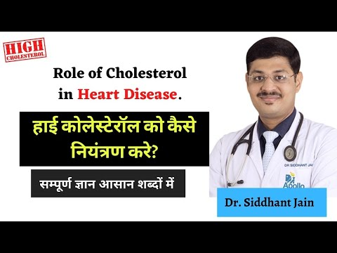 Role of Cholesterol in Heart Disease | Heart Specialist in Indore - Dr. Siddhant Jain