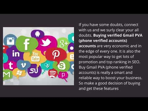 What are the Ways of Buy Gmail Accounts