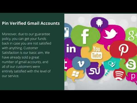 What Advantages Can you Get by Purchasing Gmail Accounts