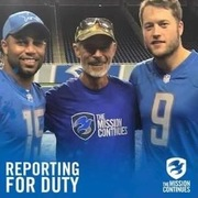 Mission Continues and Detroit Lions