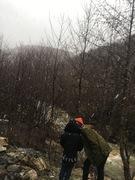 თოვლში გახვეულა მდინარე ძირულა