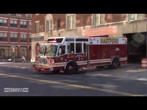 Hartford Fire Ex-Tac 1 Responding
