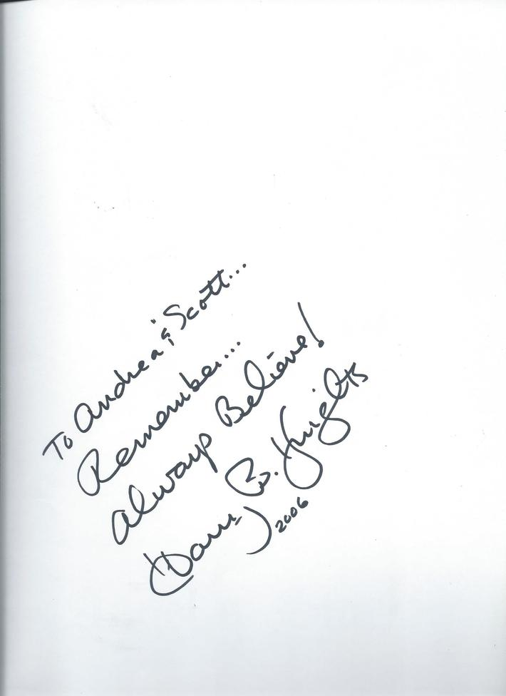 Harry B. Knights autograph--Angel's Star