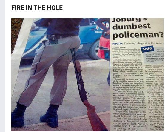 Someone Needs a Gun Safety Refresher?