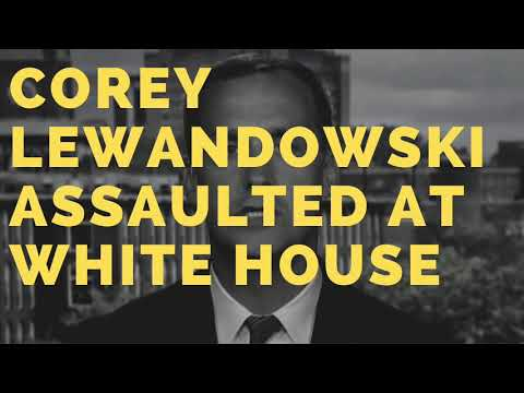 Corey Lewandowski Assaulted at the White House