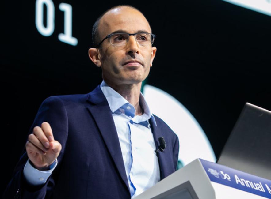 """Bogate elity i wyzyskiwane """"kolonie danych""""  - Yuval Harari"""