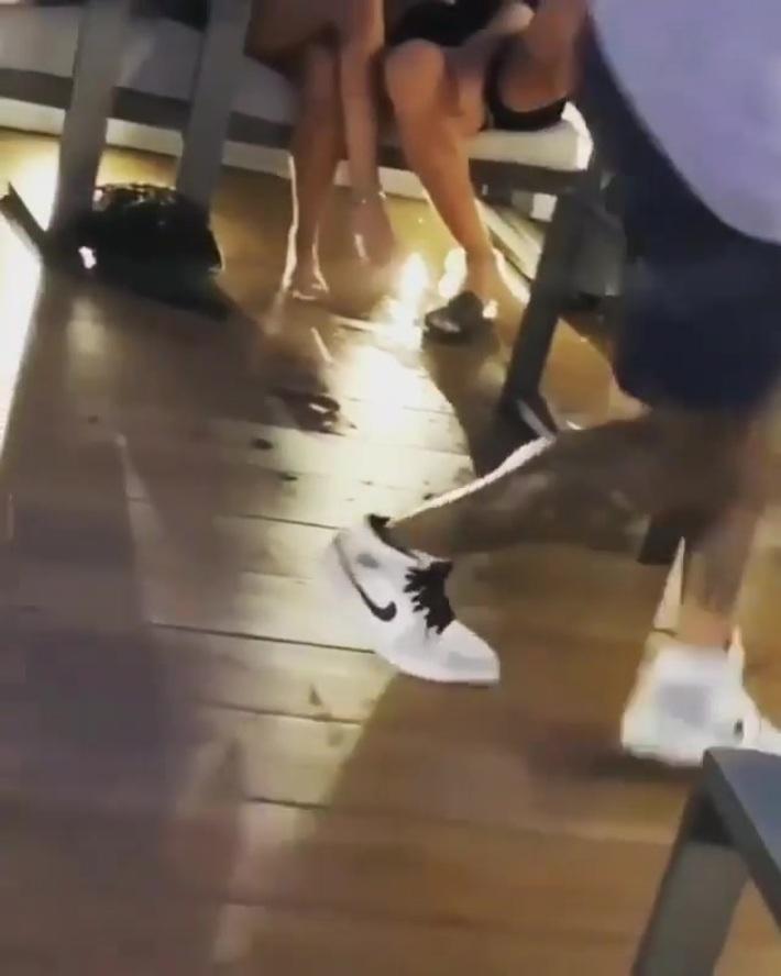 Man falls on a boat