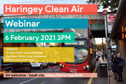 Haringey Clean Air free Webinar - this Saturday - All Welcome!