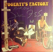 Fogerty's Factory 12' EP- Signed by John Fogerty, Shane Fogerty, Tyler Fogerty and Kelsy Fogerty