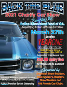 Back The Blue Car Show at Year One -Braselton GA