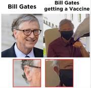 Bill Gates Receives Vaccine?