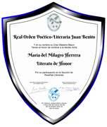 Literato de Honor
