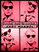 Pink Warhol Ode Pics & Quote